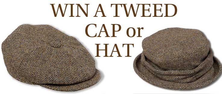 Win a Tweed Cap or Hat