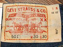 141 years of Levi Jeans