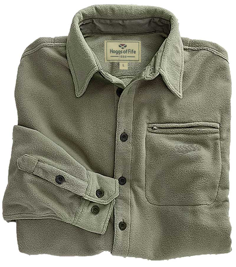 best 50% price hot new products Highlander Fleece Shirt from Fife Country