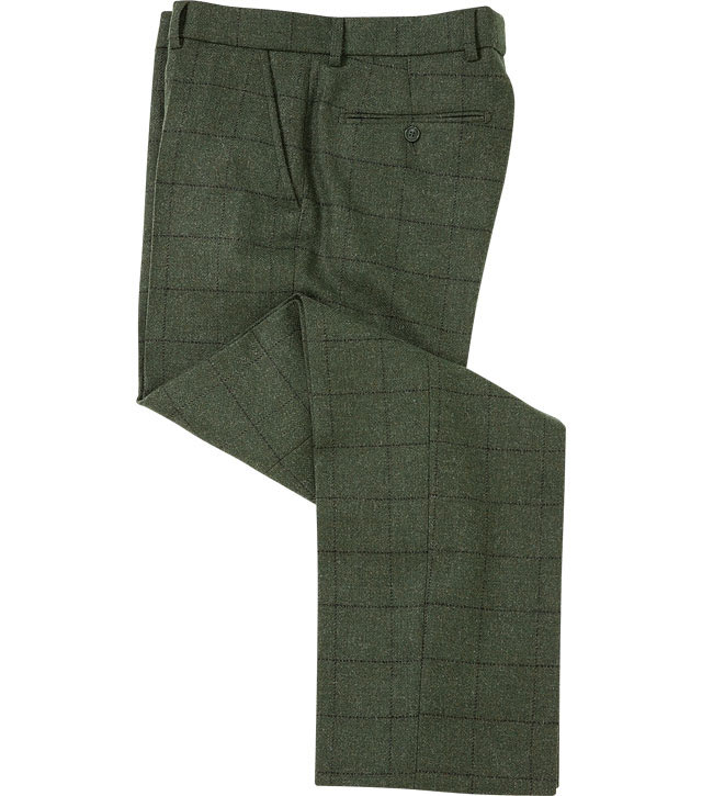 Men's Tweed Trousers Our men's tweed trousers are made from the finest British and Scottish fabric. The perfect choice for the country gentleman, pair with our tweed jackets, .