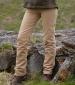 Straight Leg Moleskin Jeans Stone
