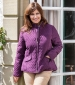 Lexington Quilted Jacket Blackberry