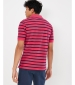 Filbert Polo Shirt Navy Stripe