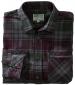 Countrysport Flannel Shirt Burgundy/ Green