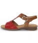 Moondust Sandal Red