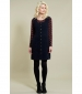 Button Front Pinafore Navy