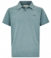 Tyrie Branded Polo Shirt Dusty Teal