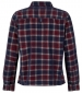 Avary Washed Cord Check Shirt Oxblood