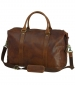 Holdall with Removable Strap Tan