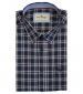 Short Sleeve Oxford Check Shirt Navy/Red