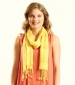 Plain Viscose Scarf Honey