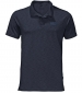 Travel Polo Shirt Night Blue
