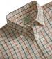 Short Sleeve Checked Shirt Red/ Navy Check