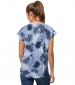Victoria Leaf Shirt Blue