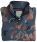 Funnel Neck Sweatshirt China Blue