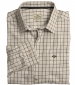 Balmoral Tattersall Shirt Navy/ Wine Check