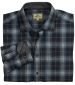 Orkney Flannel Shirt Blue Check