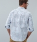 Welford Multi Check Shirt Chalk
