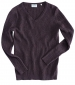 Lauder Cable Pullover Violet