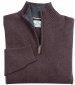 Lothian 1/4 Zip Pullover Redwood