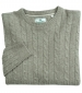 Jedburgh Cable Pullover Oatmeal
