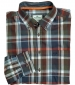 Luthrie Plaid Shirt Navy Check