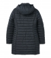 Canterbury Long Puffer Coat Navy