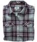 Eilidh Flannel Shirt Merlot Marl