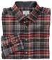Pitlochry Flannel Shirt Chestnut Check