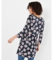 Joules Erin Top Navy Ditsy