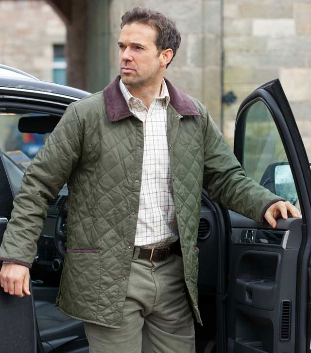 Lauderdale Quilted Jacket By Hoggs Of Fife Casual Jackets From