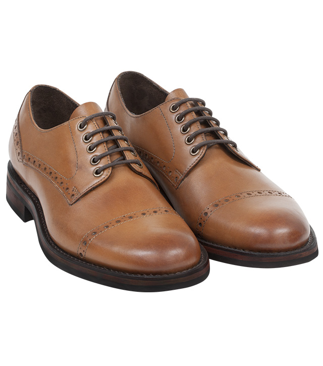 Nairn Semi Brogue By Hoggs Of Fife Handmade Shoes From