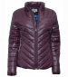 Super Lightweight Quilted Jacket Dark Plum