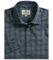 Angus Check Shirt Navy/Olive Check