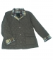 Quilted Reversible Jacket Taupe