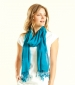 Plain Viscose Scarf Kingfisher