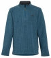 Newark 1/4 Zip Grid Fleece Sea Blue