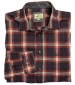 Orkney Flannel Shirt Rust Check