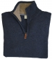 Lothian 1/4 Zip Pullover Indigo