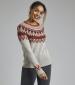 Liza Fairisle Pullover Chalk