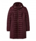 Canterbury Long Puffer Coat Plum