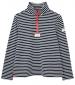 Pip Half Zip Sweatshirt Navy Cream