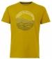 Ocean Graphic Tee Mustard