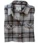 Eilidh Flannel Shirt Navy/ Pink