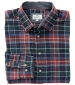 Pitlochry Flannel Shirt Forest Check