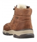 Rieker Padded Ankle Lace Boot Brown
