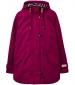 Coast Waterproof Hooded Jacket Berry