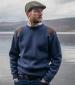Melrose Pullover Navy Marl