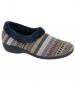 Aztec Slipper Grey