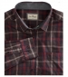 Banff Plaid Shirt Burgundy Plaid